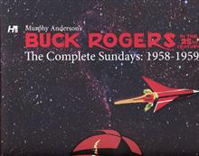 BUCK ROGERS COMP MURPHY ANDERSON SUNDAYS 1958-59 HC