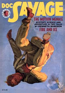 DOC SAVAGE DOUBLE NOVEL VOL 74 MOTION MENACE