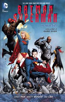 BATMAN SUPERMAN TP VOL 02 GAME OVER (N52)