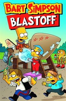 BART SIMPSON BLASTOFF TP