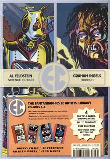 EC COMICS FOUR HC SLIPCASE VOL 02