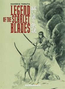LEGEND OF THE SCARLET BLADES HC (MR) (C: 0-0-1)
