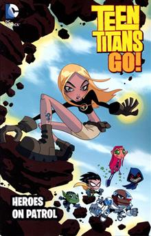 TEEN TITANS GO HEROES ON PATROL TP NEW ED