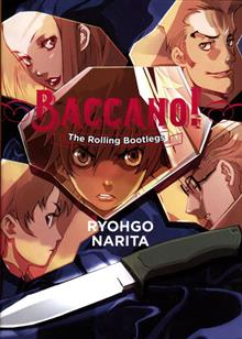 BACCANO LIGHT NOVEL HC
