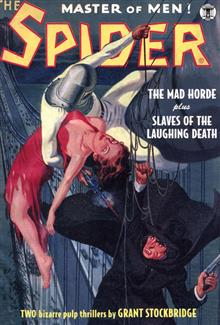SPIDER DOUBLE NOVEL #9 MAD HORDE & LAUGHING DEATH
