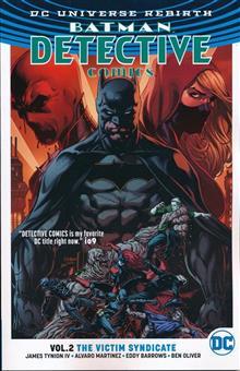 BATMAN DETECTIVE TP VOL 02 VICTIM SYNDICATE (REBIRTH)