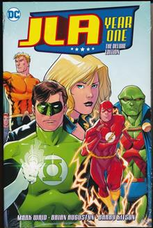 JLA YEAR ONE DELUXE ED HC