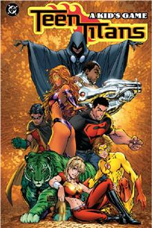 TEEN TITANS VOL 1 A KIDS GAME TP