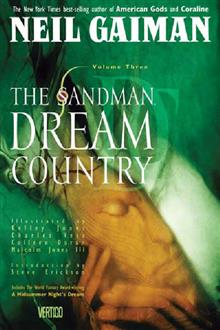SANDMAN VOL 3 DREAM COUNTRY TP NEW PTG