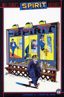 WILL EISNERS SPIRIT ARCHIVES VOL 18 HC