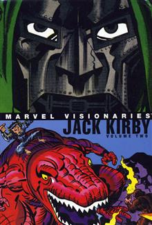 MARVEL VISIONARIES JACK KIRBY VOL 2 HC