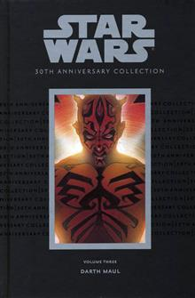 STAR WARS 30TH ANNIV COLL HC VOL 3 DARTH MAUL