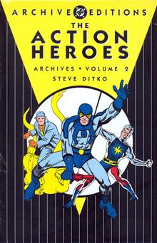 ACTION HEROES ARCHIVES VOL 2 HC