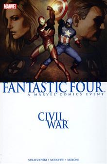CIVIL WAR FANTASTIC FOUR TP
