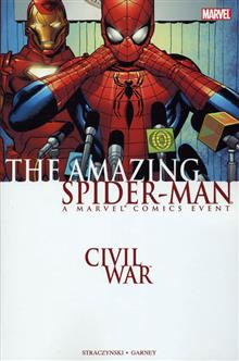 CIVIL WAR AMAZING SPIDER-MAN TP