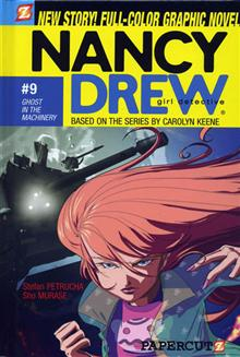 NANCY DREW VOL 9 GHOST IN THE MACHINERY HC