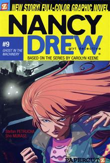 NANCY DREW VOL 9 GHOST IN THE MACHINERY SC