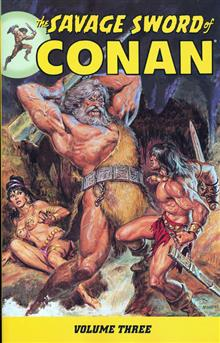 SAVAGE SWORD OF CONAN TP VOL 03