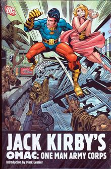 JACK KIRBYS OMAC ONE MAN ARMY CORPS HC