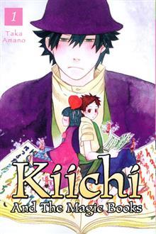 KIICHI AND THE MAGIC BOOKS VOL 01