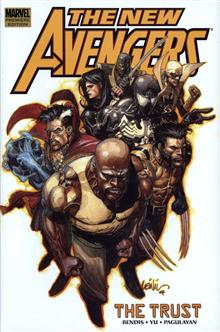 NEW AVENGERS VOL 7 TRUST PREM HC