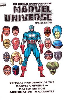 ESSENTIAL OFF HB MARVEL UNIV MASTER ED TP VOL 01