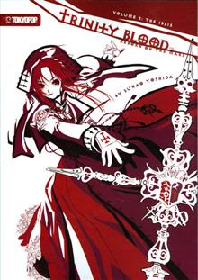 TRINITY BLOOD REBORN ON THE MARS NOVEL VOL 02 (OF