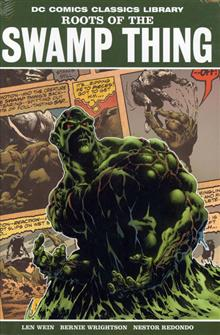 DC LIBRARY ROOTS OF THE SWAMP THING HC