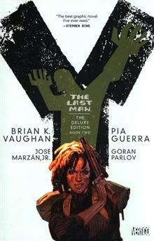 Y THE LAST MAN DELUXE EDITION VOL 2 HC (MR)