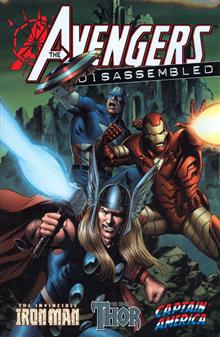 AVENGERS DISASSEMBLED IRON MAN THOR CAPTAIN AMERICA HC
