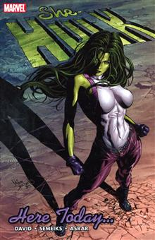 SHE-HULK VOL 7 HERE TODAY... TP