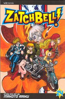 ZATCH BELL VOL 24 GN