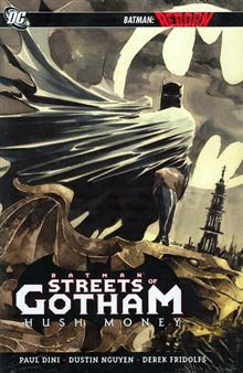 BATMAN STREETS OF GOTHAM HC VOL 01 HUSH MONEY