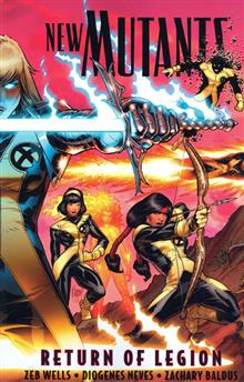 NEW MUTANTS TP VOL 01 RETURN OF LEGION