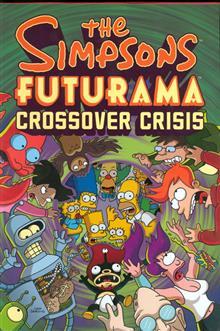 SIMPSONS FUTURAMA CROSSOVER CRISIS SLIPCASE HC (C: