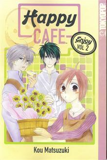 HAPPY CAFE GN VOL 02 (OF 14) (C: 0-1-1)