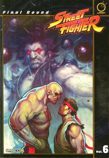 STREET FIGHTER TP VOL 06 FINAL ROUND