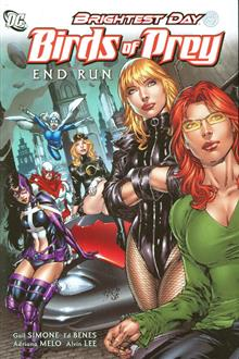 BIRDS OF PREY HC VOL 01 END RUN
