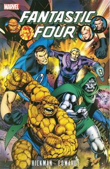 FANTASTIC FOUR BY JONATHAN HICKMAN TP VOL 03