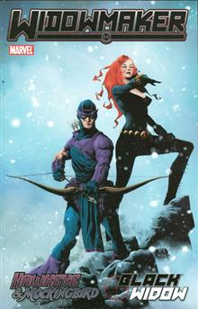 HAWKEYE AND MOCKINGBIRD BLACK WIDOW TP WIDOWMAKER
