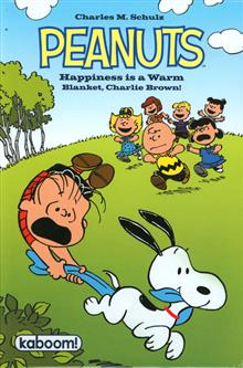 PEANUTS HAPPINESS IS A WARM BLANKET CHARLIE BROWN