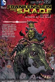 FRANKENSTEIN AGENT OF SHADE TP VOL 02 SECRETS  DEAD