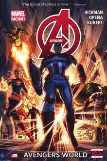 AVENGERS PREM HC VOL 01 AVENGERS WORLD