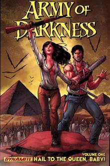 ARMY OF DARKNESS TP VOL 01 HAIL TO THE QUEEN BABY