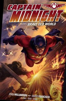 CAPTAIN MIDNIGHT TP VOL 02 BRAVE OLD WORLD