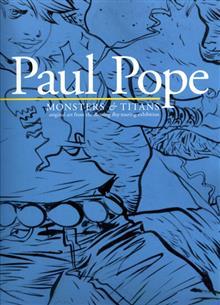 PAUL POPE MONSTERS & TITANS BATTLING BOY ART ON TOUR TP