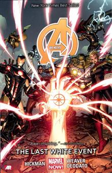 AVENGERS TP VOL 02 LAST WHITE EVENT