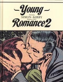 YOUNG ROMANCE BEST SIMON & KIRBY COMICS HC VOL 02