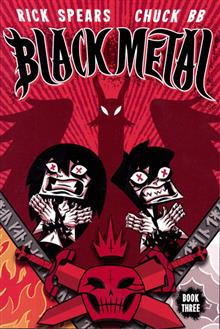 BLACK METAL GN VOL 03 (OF 3)