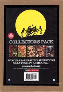 HARVEY HORRORS COLL PACK WITCHES TALES SGN SLIPCAS